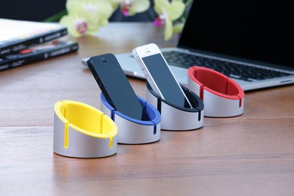 Just Mobile AluCup iPhone and iPad Stand | Gadgetsin