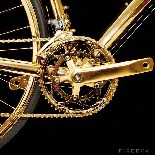 Can You Dare To Ride 24k Gold Racing Bike In Street