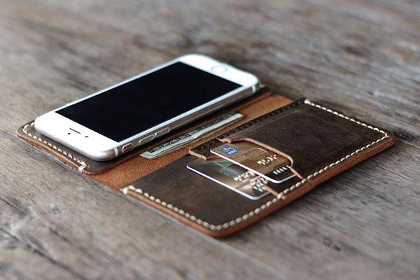 The Handmade Wallet Leather Case For Iphone 6 6 Plus