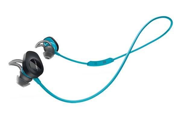 bose soundsport bluetooth earbuds with sweat and weather resistant design. Black Bedroom Furniture Sets. Home Design Ideas