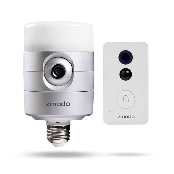 Zmodo Torch Pro Smart Door Light And Connected Doorbell
