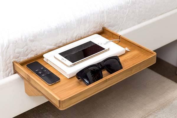 Bed Frame Minimal Japanese Walnut